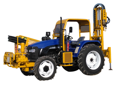 T100D Tractor-mounted Drilling Rig
